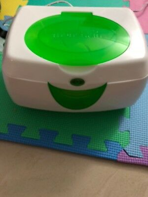 Munchkin Warm Glow Wipe Warmer WHITE Slightly USED