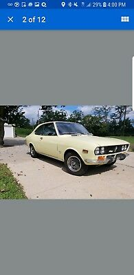 "1971 Mazda Rx2 Coupe 1971 mazda rx2 coupe ""ALL ORIGINAL"" color yellow"