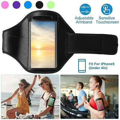 Sports Running Jogging Gym Armband Arm Holder Cover Case For iPhone 5 5s