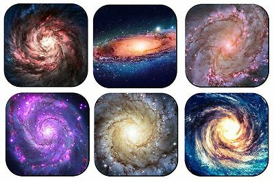 Galaxy Drink Coasters X 6