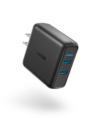 Refurbished Anker Quick Charge 3.0 39W Dual USB Wall Charger, PowerPort Speed 2