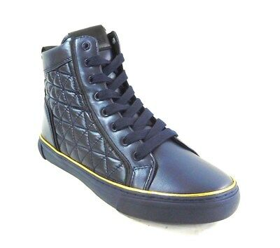 c3ac9c72db94aa GUESS MEN S MELO Sneakers Dark Blue 9M -  59.99