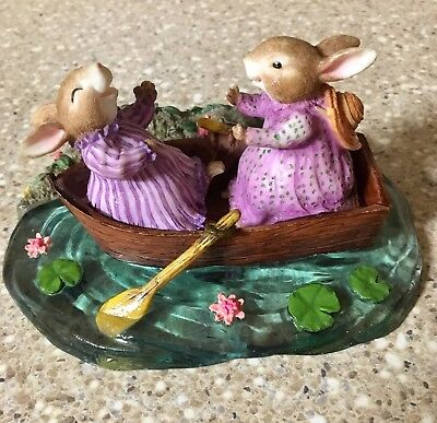 """""""Holly Pond Hill"""" Figurine """"The Only Way Yo Have A Friend Is To Be One Figurine"""