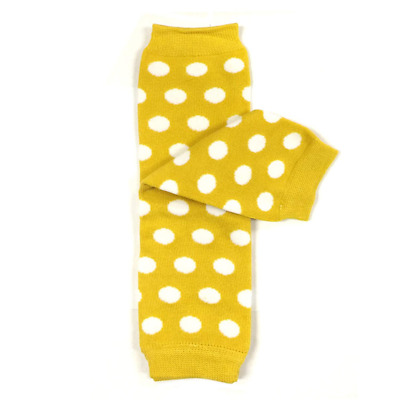 Bowbear Baby Polka Dot and Solid Color Leg Warmers