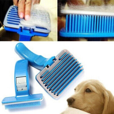 Dog Cat Hair Brush Fur Shedding Trimmer Grooming Rake Dematting Comb Brush