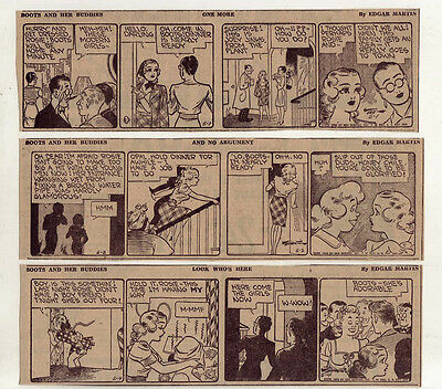 Boots & Her Buddies by Edgar Martin - 26 daily comic strips - Complete May 1943