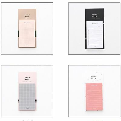 Cute Daily Plan To Do List Weekly Monthly N Times Paper Sticky Notes Memo Pad