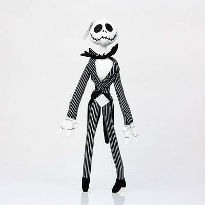 The Nightmare Before Christmas Jack Skellington Plush Doll Halloween Kids Toy