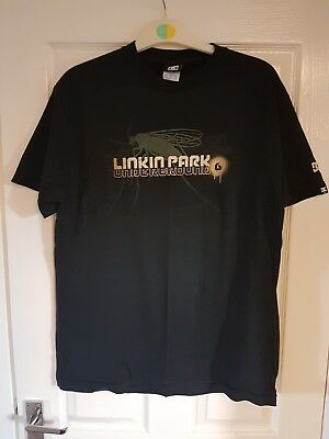 LINKIN PARK LPU Underground 6 Fan Club T Shirt - L Large - Worn Once