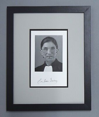 Ruth Bader Ginsburg Signed Auto Autograph Official Scotus 11X14 Photo Display