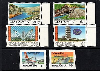 Malaysia 1987-89 Unmounted Mint many Sets Much Thematic