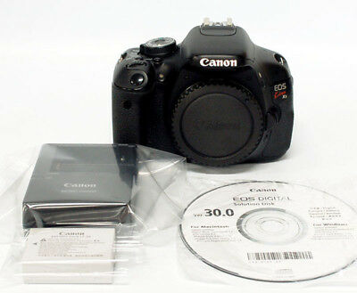 CANON EOS KISS X5 ( Rebel T3i / 600D ) Camera - Black (Body Only)