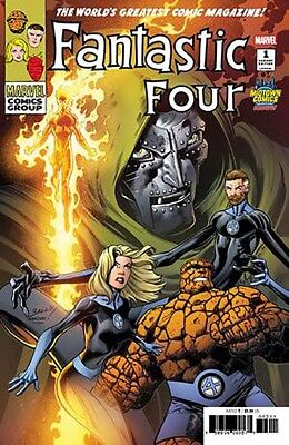 FANTASTIC FOUR #1 Exclusive Mark Bagley Rare VARIANT Cover