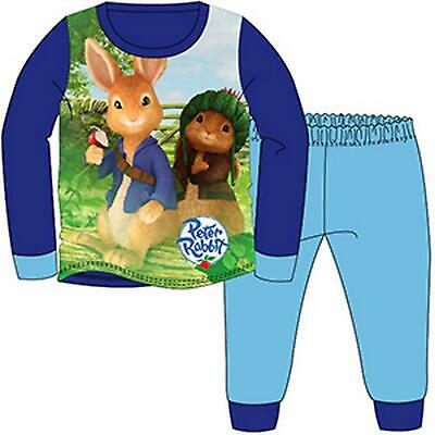 Boys pyjamas, character, long pjs 18mths -5yrs - PETER RABBIT nightwear