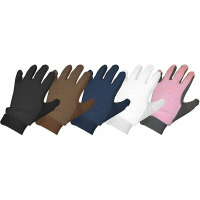 Saddle Craft Gripfast Unisex Gloves Everyday Riding Glove - Black All Sizes