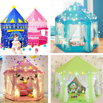 Children Kid Baby Popup Play Tent Fairy Girl Garden Playhouse Toy Indoor Outdoor
