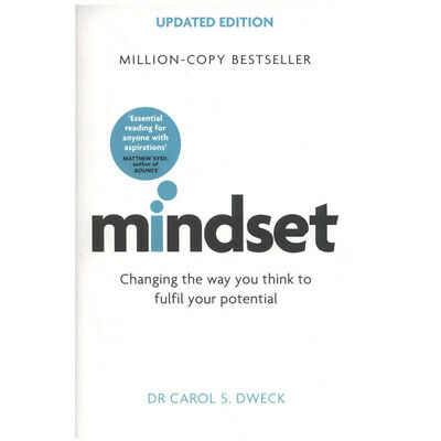 Mindset - Updated Edition By Dr Carol Dweck Psychology Paperback New Book