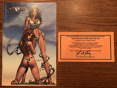 Witchblade #18 Color Ebas Aix Convention Exclusive Ltd 500 Jay Company Top Cow