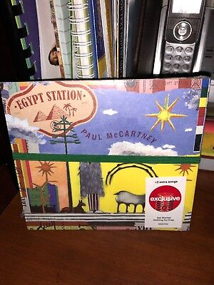 Paul McCartney Egypt Station CD Target exclusive 2 bonus tracks Beatles 9/7 New