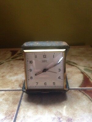 Wehrle Travelling Cased Alarm Clock