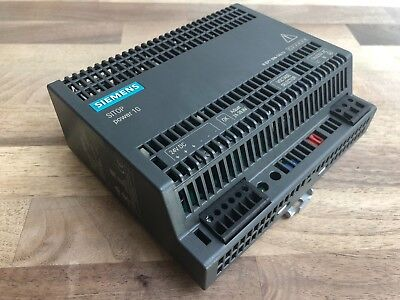 SIEMENS SIMATIC 6EP1334-1AL12 SITOP 10 Power Supply 120v/230v/24v industrial