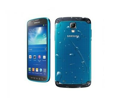Samsung Galaxy S4 Active Blau Handy Dummy Attrappe - Requisit, Deko, Ausstellung