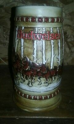 1981 budweiser holiday stein