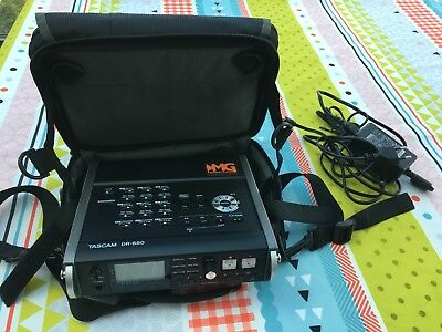 Tascam DR-680 8 Spur SD-Card Recorder 6 Analog 2 Digital Stereo Mixer