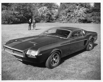 1968 Ford Mustang Mach 1 Experimental Concept Car Press Photo & Release 0028
