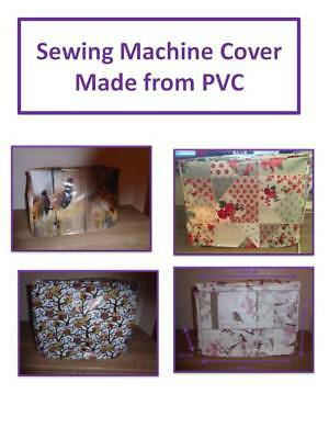 Sewing Machine Dust Cover - GIft Idea - Made from PVC