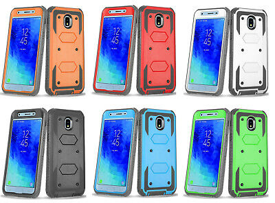Samsung J3 2018 Armor Shockproof Hybrid Otterbox Styled Protective Case Cover