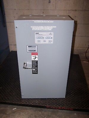 Asco 104 Amp Automatic Transfer Switch 480 Vac 3 Phase D00300030104N10C