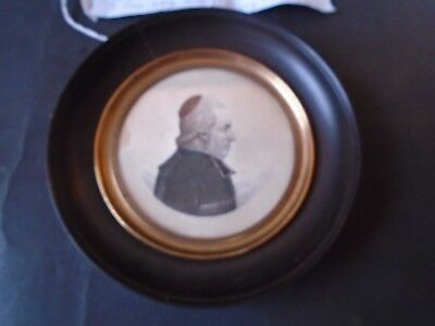 Very Rare C1821 Physionotrace Engraving by Etiene Bouchardy of J.F. Gayon.