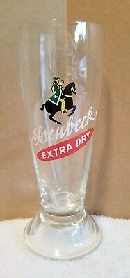 Isenbeck Extra Dry German Beer Glass 0.2L Germany Brewery