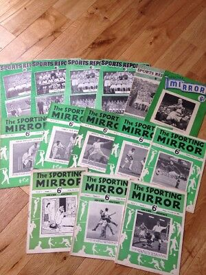 14 Issues Sports Reporter & The Sporting Mirror Magazine 1948,1949,1950