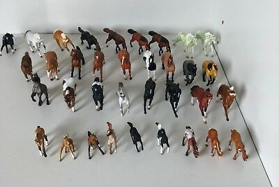Lot of 30+ Breyer Model Horse Micro Mini Size Mini Whinnies