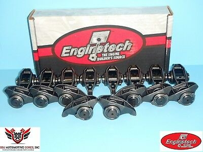 (16) Enginetech Gm Geniii Ls1 Ls2 5.7 6.0 Rocker Arms With Updated Trunion Kits