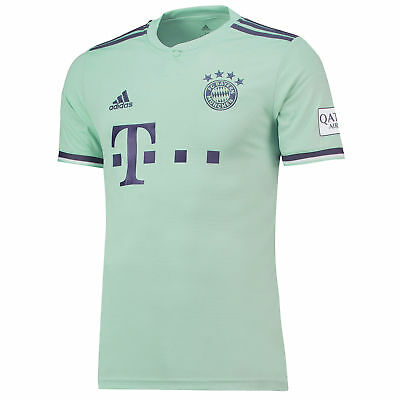 Official Bayern Munich Football Away Shirt Jersey Tee Top 2018 19 Mens adidas