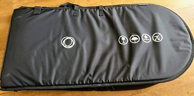 Bugaboo Black Travel Bag/Flight Case/Transport in Good Used Condition