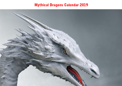 Mythical Dragons Calendar 2019