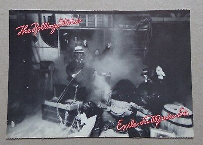CP postcard THE ROLLING STONES Exile on main street - scene 9