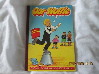 Oor Wullie Book / Biannual 1990. A good clean book ingood condition.