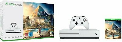 Xbox One S 500GB Console – Assassin's Creed Origins Bundle