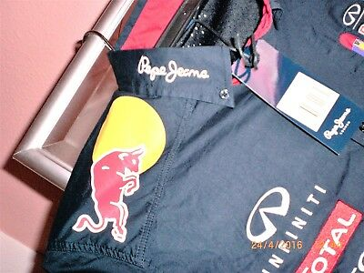Formel1 -Red Bull Racing infinity pepeJeans Hemd Gr. S + XL  (Auswahl)