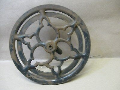 Antique 1909 Singer 29-4 Treadle Sewing Machine Dual Pulley Belt Fly Wheel