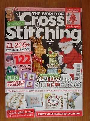 The World of Cross Stitching Issue 273 + Free Gifts (latest)