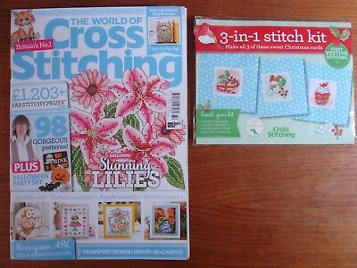The World of Cross Stitching Issue 272 + Free Gift