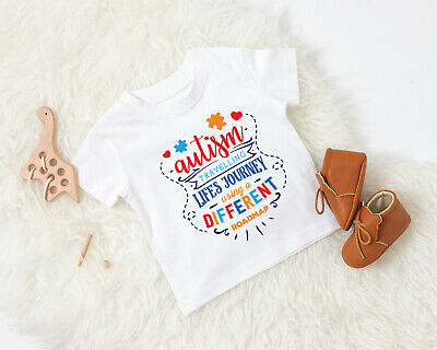 boys/girls autism awareness T-shirt / bodysuit/ children/kids autistic