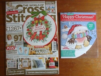 The World of Cross Stitching Issue 249 + Free Gift