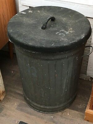 Vintage Metal Dustbin